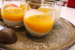 Image pour Panna cotta mangue passion